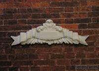 Пластиковый декор от Е.В.А - Вензель, 7,8х2,5см