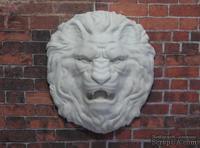 Гипсовое украшение от Е.В.А - Голова льва, 5,5х5 см