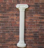 Гипсовое украшение от Е.В.А - Колонна, 10,5х3 см