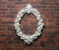 Пластиковый декор от Е.В.А - Рамка, 7,3х5,5 см
