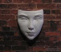 Гипсовый декор от Е.В.А - Маска, 3.2х2.8 см