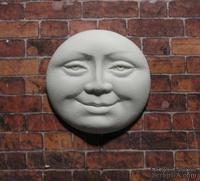 Гипсовый декор от Е.В.А - Личико солнышка, 3.2 см