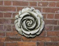 Гипсовое украшение от Е.В.А. - Роза с патинированием, 2.8х2.6 см
