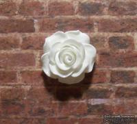 Пластиковая роза от Е.В.А, 2см