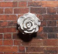 Гипсовая роза от Е.В.А, 2 см