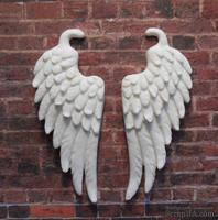 Пластиковые крылья от Е.В.А, размер крыла 6,5х2,6см