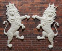 Пластиковые львы от Е.В.А, 11,5х7см