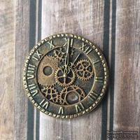 Часики под античное золото от Е.В.A, диаметр 35 мм, 1 шт.