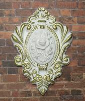 Гипсовый декор от Е.В.A - Камея с позолотой, 5х7 см, 1 шт.