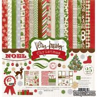 "Набор бумаги от Echo Park ""Very Merry Christmas"", 30x30, 12 листов"