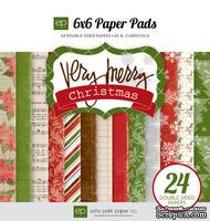 "Набор бумаги от Echo Park ""Very Merry Christmas"", 15x15, 24 листа"
