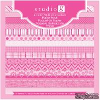 Набор скрапбумаги Studio G - Pink, цвет розовый, 15х15 см, 15 листов