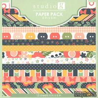 Набор бумаги от Studio G, 15х15 см, 15 шт