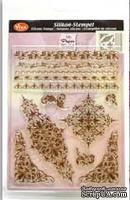 """Набор акриловых штампов от Viva-decor """"Ажурные границы"""", размер 14 x 18 см, 1 шт."""
