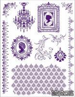 """Набор акриловых штампов от Viva-decor """"Драгоценный камень"""", размер 14 x 18 см, 1 шт."""