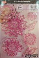 Штамп силиконовый от Viva Decor - Цветок Амели, 14x18 см