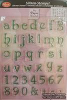 """Штамп силиконовый 14x18см """"Алфавит маленький"""", """"о"""" - 1,2х1,3мм"""