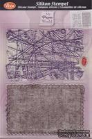 """Набор акриловых штампов от Viva-decor """"Раскрой ткани"""", размер 14 x 18 см."""