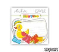 Набор высечек и карточек для журналинга Lesia Zgharda Paper Cuts Baby