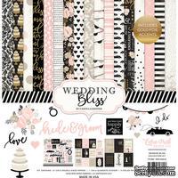 Набор бумаги от Echo Park -  Wedding Bliss, 30х30 см