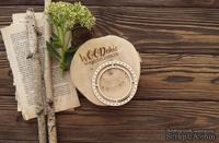 Чипборд от WOODchic - Рамка круглая иллюминатор, 8х8 см