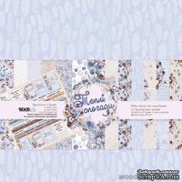 """Набор бумаги для скрапбукинга двусторонняя от WOODchic - """"Теплі спогади"""", 30,5 х30,5 см"""
