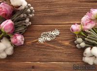 Чипборд от WOODchic - Сосновая Ветка с шишками, 6х3.4 см