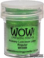 Пудра для эмбоссинга от WOW - WH09 Luscious Lime, 15 мл
