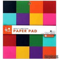 Набор кардстока Hampton Art - Bright cardstock, 15х15 см, 32 листа