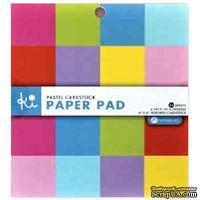 Набор кардстока Hampton Art - Pastel cardstock, 15х15 см, 32 листа