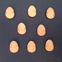 Деревянная фигурка WOOD-056 - Пасхальное яйцо малое, 1 штука