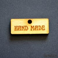 Деревянная фигурка WOOD-086 - Hand Made 2, 1 штука