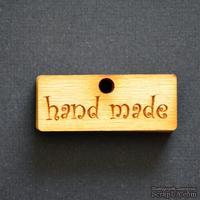 Деревянная фигурка WOOD-088 - Hand Made 4, 1 штука