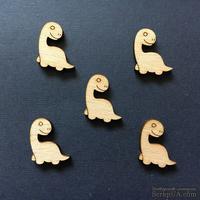 Деревянная фигурка WOOD-141 - Динозавр, 1 штука