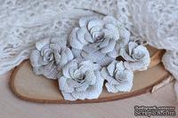 """Набор бумажных цветов от WOODchic - """"Яблочный цвет"""" 033"""