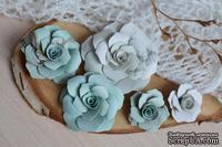 Набор бумажных цветов от WOODchic - Нежное прикосновение 078