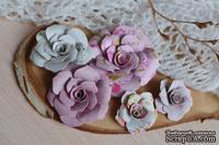 Набор бумажных цветов от WOODchic - Нежное прикосновение 079