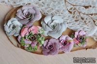 Набор бумажных цветов от WOODchic - Нежное прикосновение 080