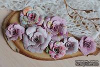 Набор бумажных цветов от WOODchic - Нежное прикосновение 081