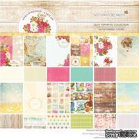 Набор двусторонней скрапбумаги Webster's Pages - Strawberry Fields - Pad, 30х30 см, 24 листа