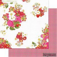 Лист скрапбумаги Webster's Pages - Picking Berries, двусторонняя, 30х30 см