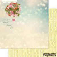 Лист скрапбумаги Webster's Pages - Balloon Bouquet, двусторонняя, 30х30 см