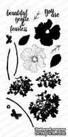 Силиконовые штампы от Impression Obsession - Watercolor Florals -Акварельные цветы