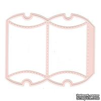 Лезвие Nellie Snellen - Wrapping Die Gift Box 1 - Rectangle