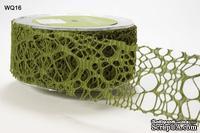 """Ленточка """"Соты"""", цвет: зеленый, ширина 50 мм, длина 90 см"""