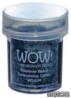 Пудра для эмбоссинга от Wow -  Rainbow Black, 15 мл