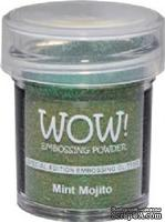 Глиттер для эмбоссинга от WOW - WS60R Mint Mojito Embossing Glitter, 15 мл