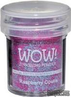 Глиттер для эмбоссинга от WOW - WS64R Rasberry Coulis Embossing Glitter, 15 мл