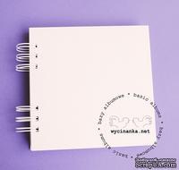 Чипборд от  Wycinanka  - Альбом, 15х15см, 12 листов