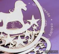 Чипборд от  Wycinanka  - Медальоны  с , 7,1x8,5 см